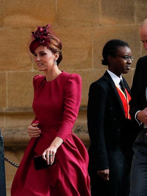Герцогиня Кембриджска Кейт у Alexander McQueen / © Reuters