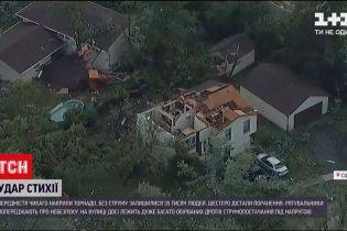 Новости мира: в Чикаго из-за сильного шторма в пригородах травмированы десяток людей