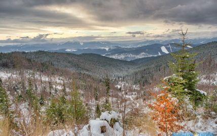 Cьогодні в Україні очікується плюсова температура та мокрий сніг