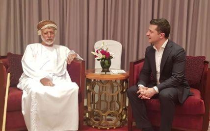 На Банковой сообщили подробности пребывания Зеленского в Омане
