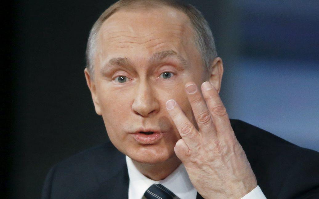 Путин ответил на вопросы журналистов / © ТСН.ua