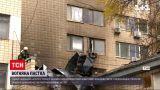 Новости Украины: во дворе Киевского института урологии произошел пожар