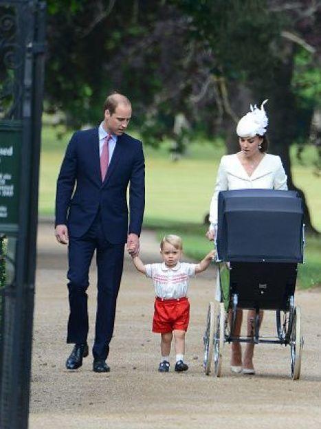 Принц Уильям, герцогиня Кэтрин и их дети принц Георг и принцесса Шарлотта / © Getty Images
