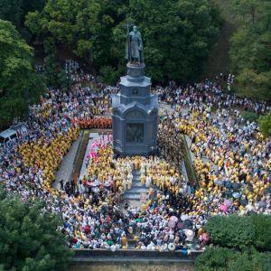 В Україні святкують День Хрещення Русі