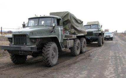 В ОБСЕ сообщили об исчезновении тяжелого вооружения, которое отводят из зоны АТО