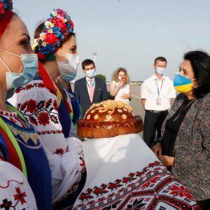 Президентка Грузії прибула до України з візитом