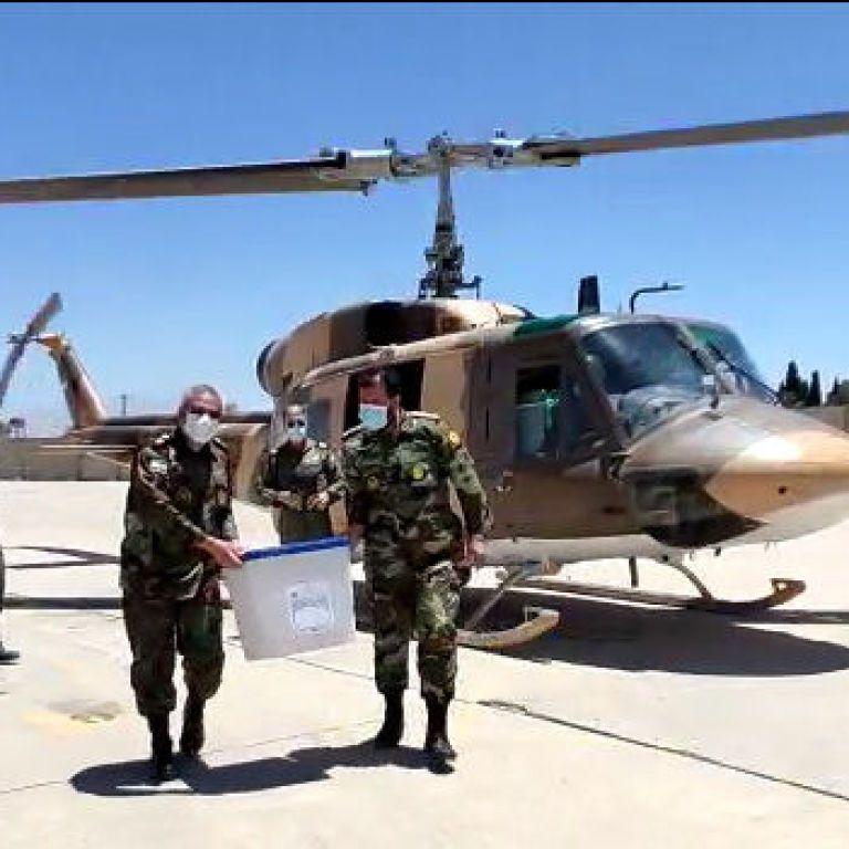 В Иране разбился вертолет, который перевозил ящики для голосования: есть погибший