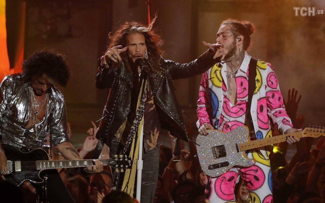 Aerosmith и Post Malone / © Reuters