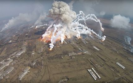 Видео взрывов с дрона и выжженная земля с высоты птичьего полета: как Балаклея виглядит сейчас