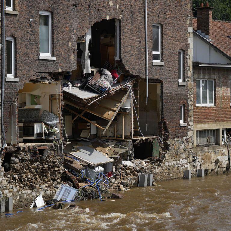 Ущерб от наводнения в Бельгии превысили 10 млрд евро