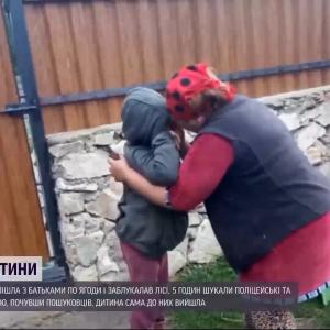 Провела 5 часов сама в лесу: в Ровенской области потерялся ребенок