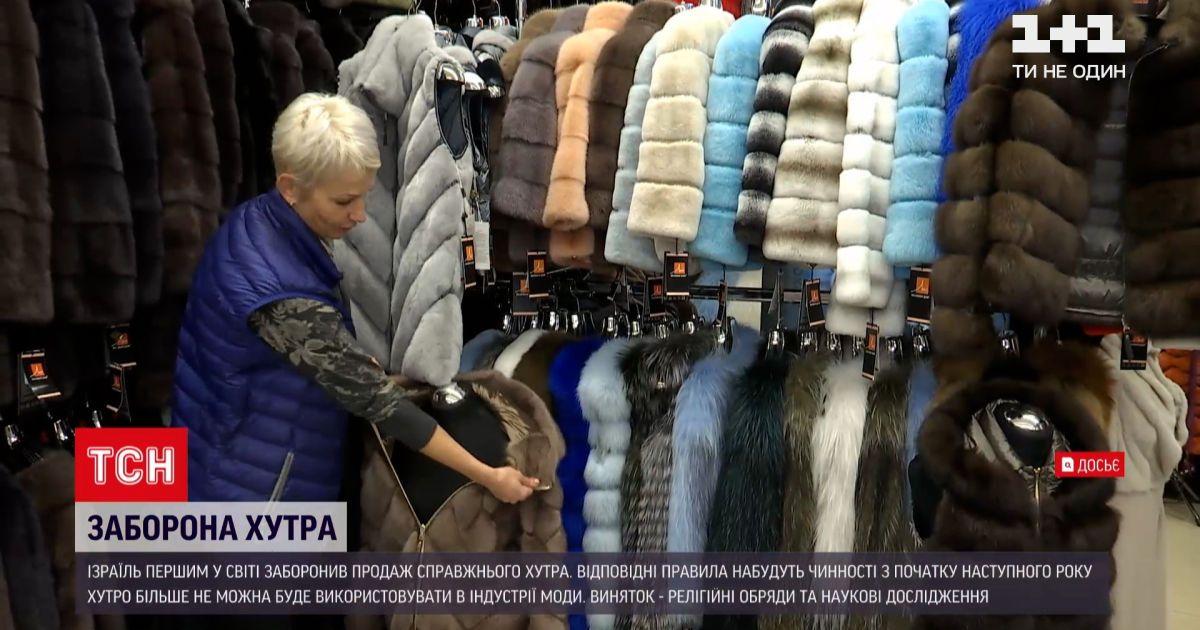 Новости мира: Израиль стал первой страной в мире, где запретили продажу натурального меха