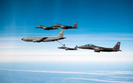 Авиация международной коалиции впервые ударила по позициям армии Асада