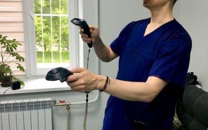 В Украине впервые провели операцию с помощью виртуальной реальности (фото)