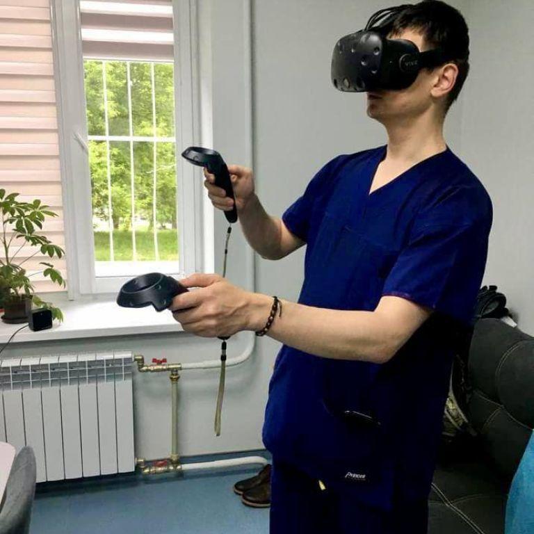 В Україні вперше провели операцію за допомогою віртуальної реальності (фото)