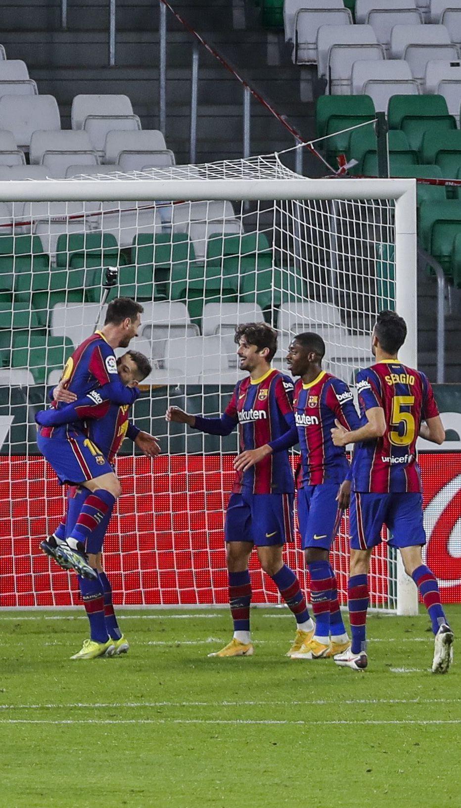 """Камбэк имени Месси: """"Барселона"""" продлила свою победную серию в Ла Лиге (видео)"""