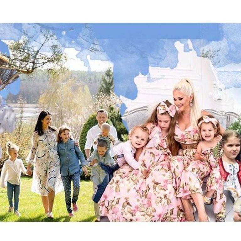 Бужинская, Павлик и Скрипка: кто из украинских звезд — многодетные родители