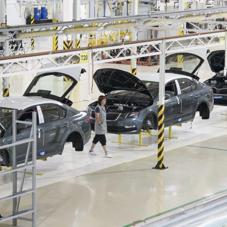 Виробництво легковиків Skoda подвоїлось в Україні