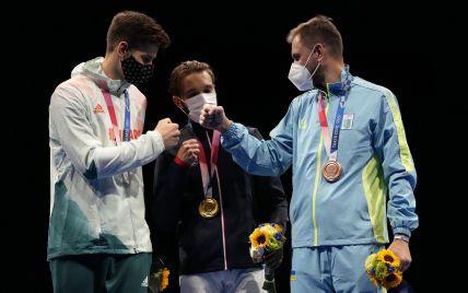 Історичні кадри: як нагороджували українського призера Олімпіади-2020 Рейзліна