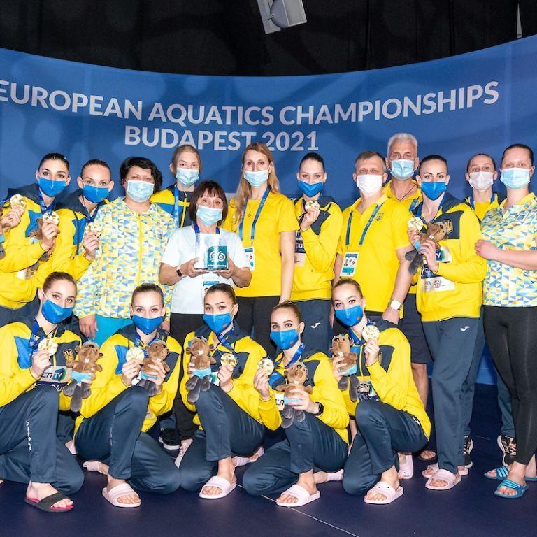 Історичне досягнення: збірна України із синхронного плавання з рекордом завершила Чемпіонат Європи