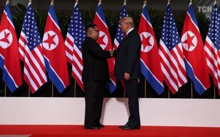Ким Чен Ын и Трамп впервые встретились в Сингапуре