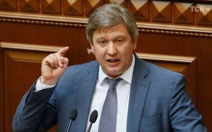 Парламент уволил министра финансов Данилюка