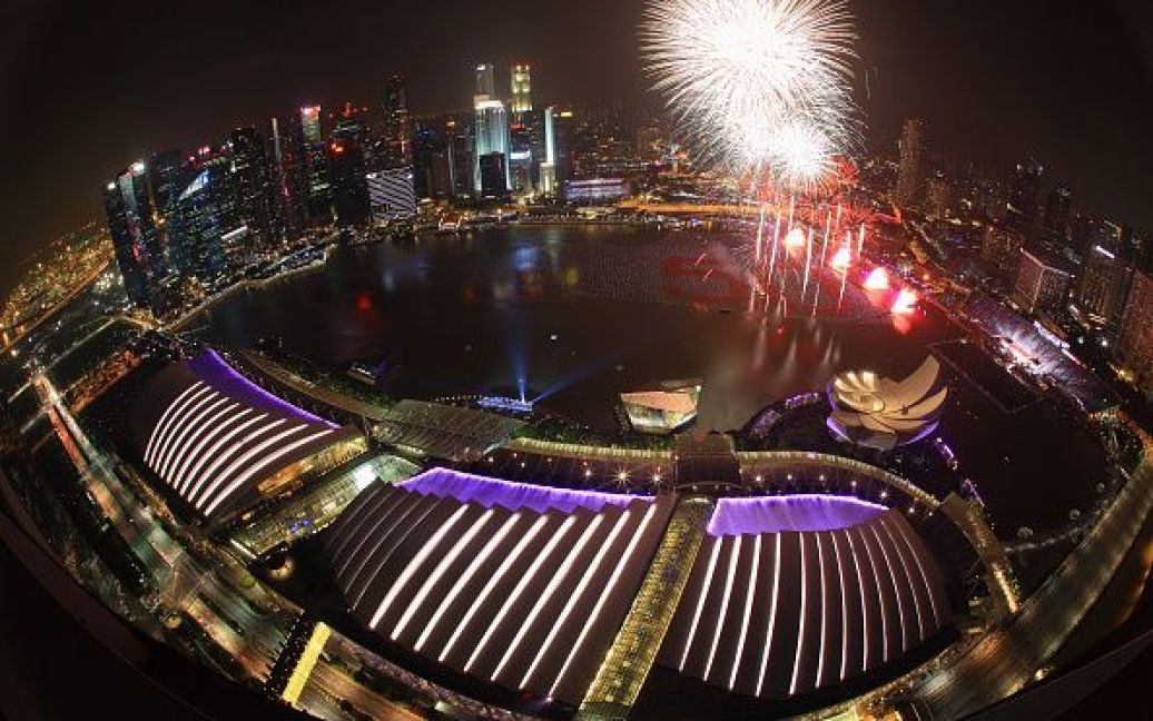 Святкування Нового року в Сінгапурі. / © Getty Images