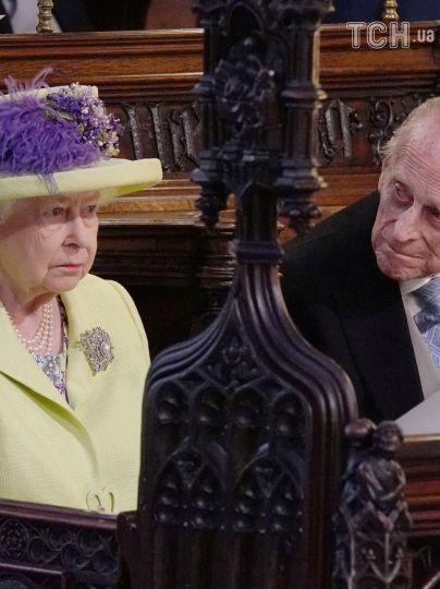 Королева Елизавета II с мужем / © Reuters