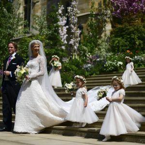 Королевская свадьба: как выходила замуж племянница королевы Елизаветы II - леди Габриэлла Виндзор