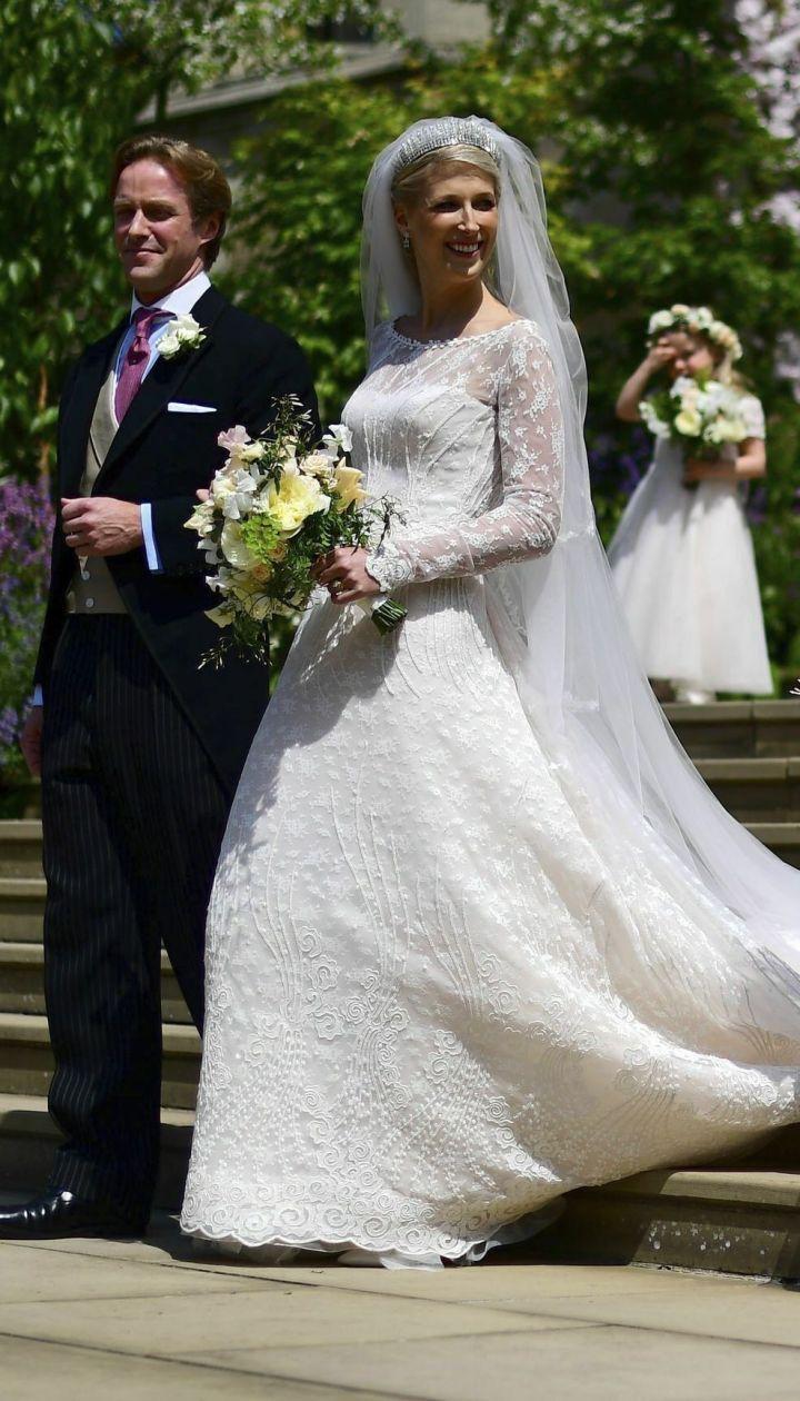 Весілля леді Габріелли Віндзор і Томаса Кінгстона / © Associated Press