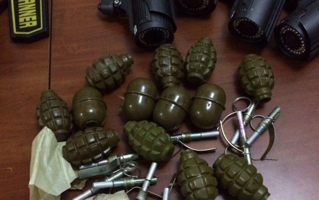 В центре Киева нашли арсенал оружия / © Прокуратура Киевской области