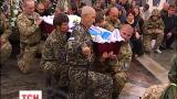 На Майдане Независимости попрощались с бойцом батальона «Айдар» Евгением Марчуком
