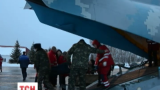Стан 24 армійців, яких доставили до Києва, лікарі оцінюють як важкий і середньої тяжкості