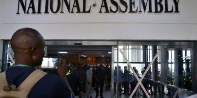 В парламенте Нигерии во время заседания украли жезл, без которого невозможно принять решение
