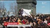 Российские федеральные каналы показательно проигнорировали протесты в Москве