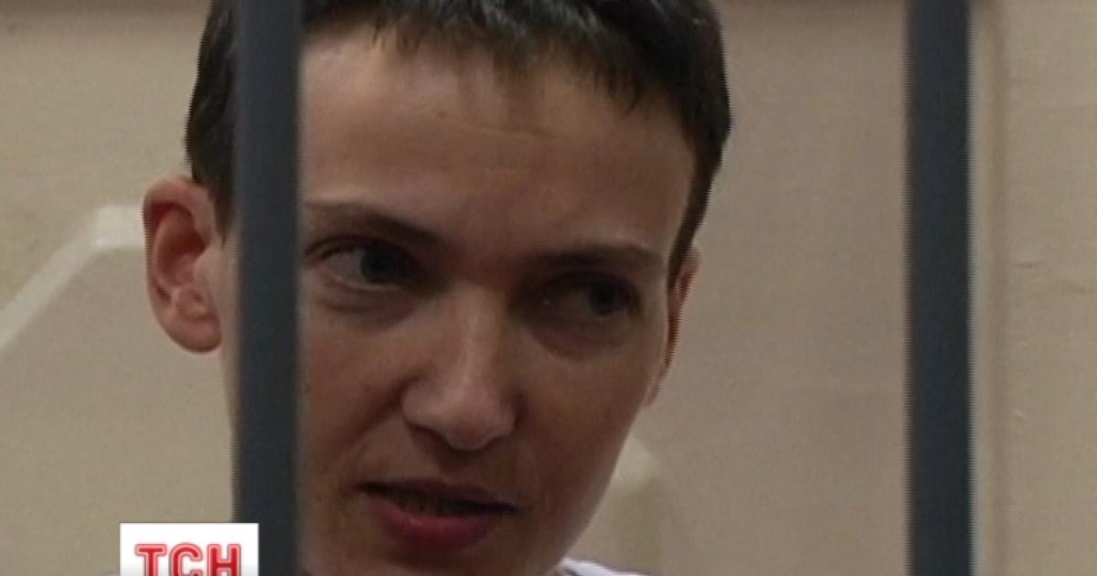 Освобождение Надежды Савченко Порошенко накануне обсудил с Путиным по телефону