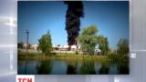 В непосредственной близости от горящей нефтебазы оказались жители города Васильков