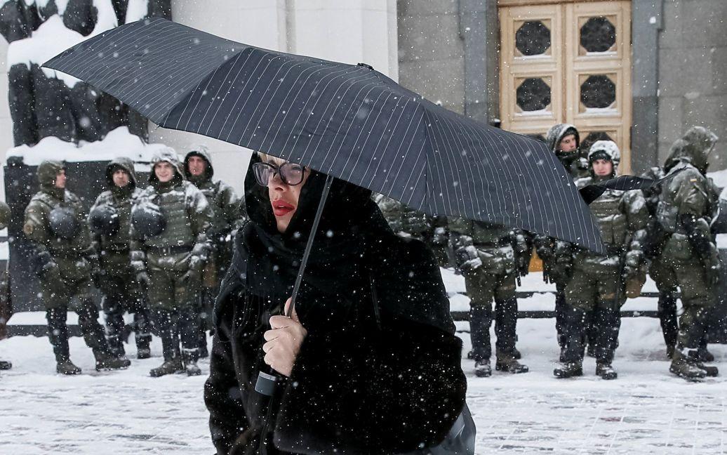 У перший день березня Україну засипало снігом. / © Reuters