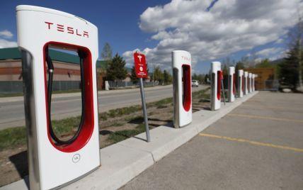 Зарядки Tesla в Украине. Компания обновила карту станций Supercharger
