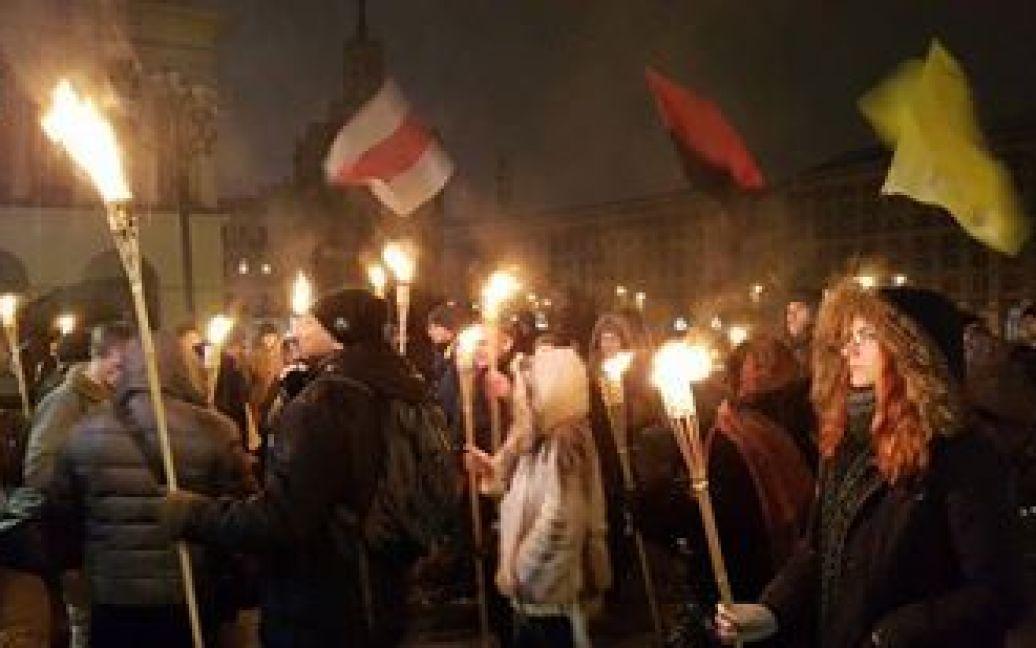 Активісти стурбовані тим, що за два роки силовики не покарали жодного винуватця розгону студентів / © Фото Івана Гребенюка/ТСН