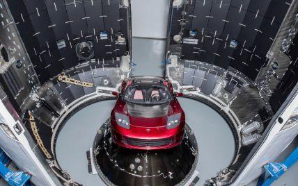Запущену до космосу Tesla внесли до списку супутників