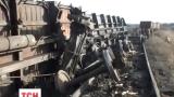 У підконтрольній бойовикам Макіївці зійшов з рейок потяг з вугіллям