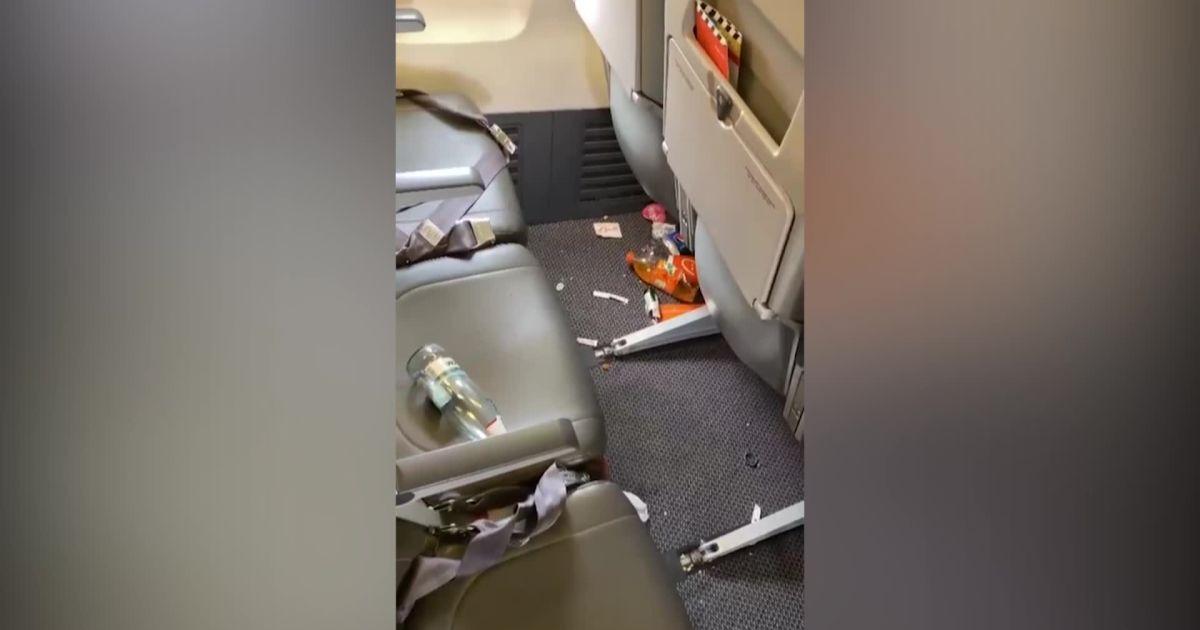 """""""Летели свиньи"""": пассажиры, путешествующие из Харькова в Египет, превратили салон в свалку"""