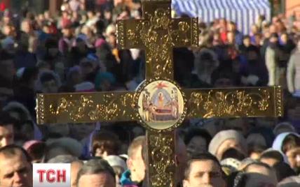 В Киеве прошло необычное 100-тысячное паломничество