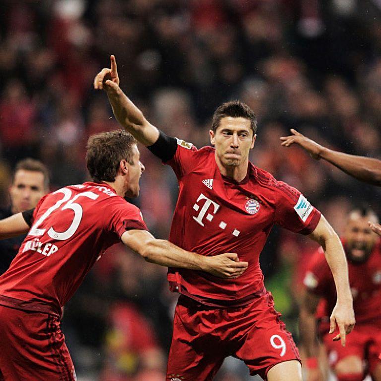 """Форвард """"Баварії"""" зробив найшвидший пента-трик в історії Бундесліги"""