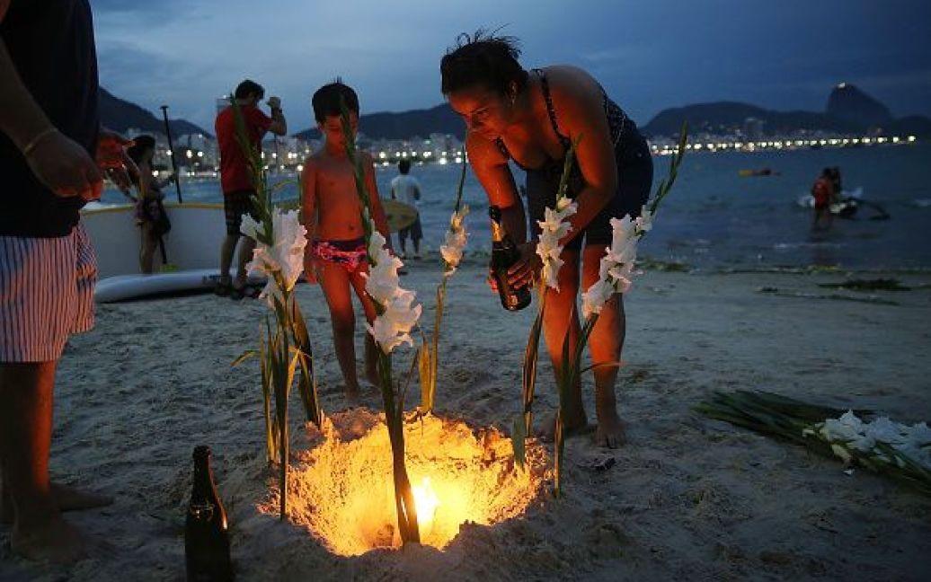 Святкування Нового року в Ріо-де-Жанейро, Бразилія. / © Getty Images