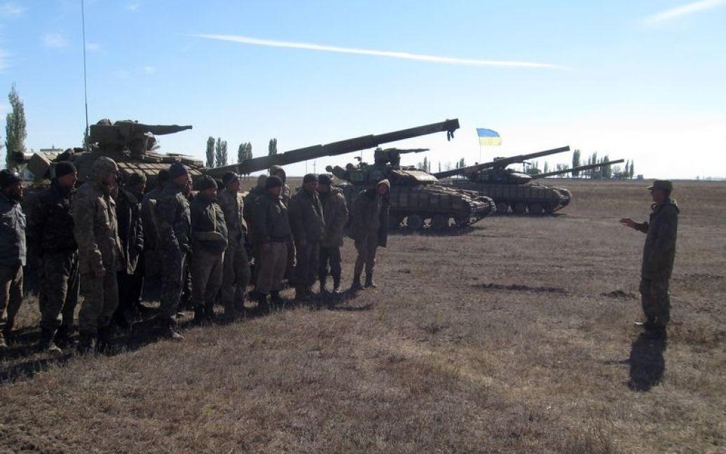 На полигоне состоялись учения ВСУ / © Информационно-аналитический центр СНБО
