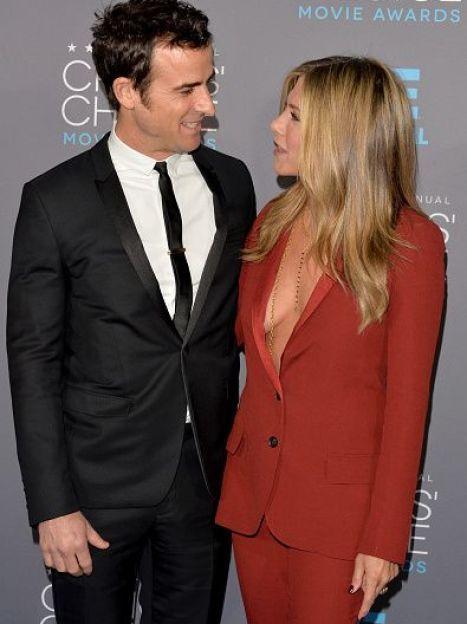 Джастин Теру и Дженнифер Энистон / © Getty Images/Fotobank