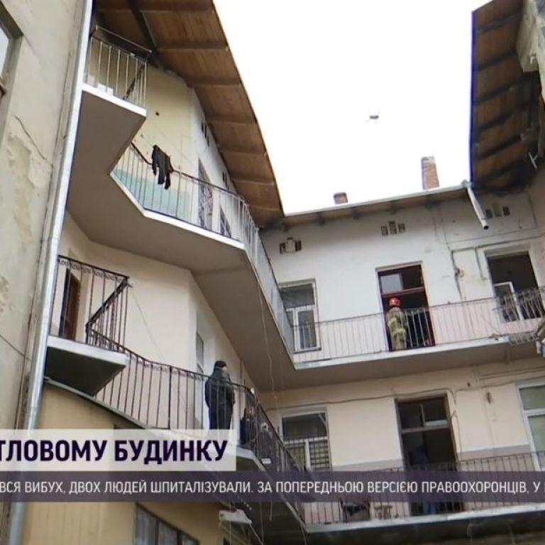 Через зруйновану вибухом квартиру у Львові існує ризик обвалення будинку: мешканців відселяють