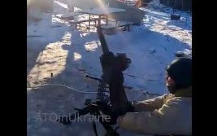 У Мережі з'явилося відео бою за метеостанцію біля Донецького аеропорту